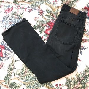 Madewell Cali demi-boot jeans size 30T